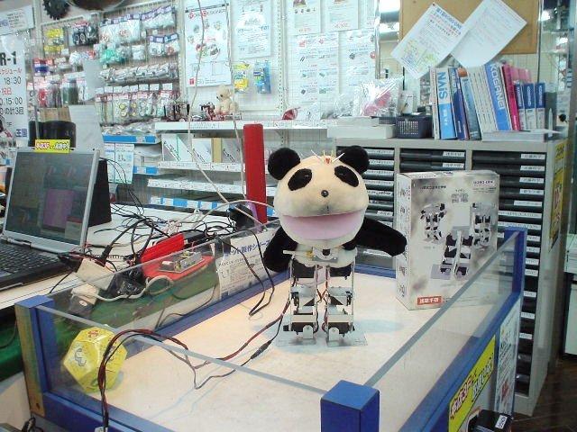 秋葉原ツクモロボット王国の店内画像
